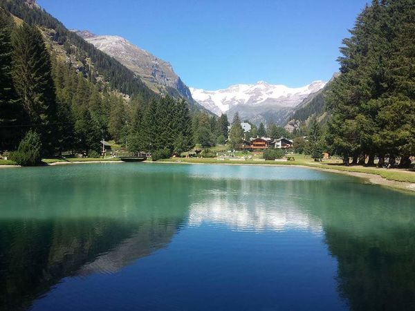 Reflection Blue Water Outdoors Tree Clear Sky Landscape No People Nature Lake Sky Scenics Mountain Range Day Art Painting Indoors  Like4like Tagsforlikes Italy Landscape_photography Landscape_Collection Photography Nikon Mountain