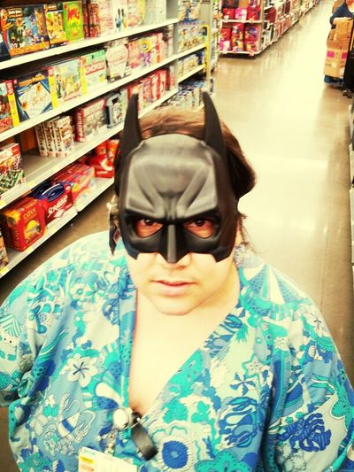 Mom Thinks She Batman
