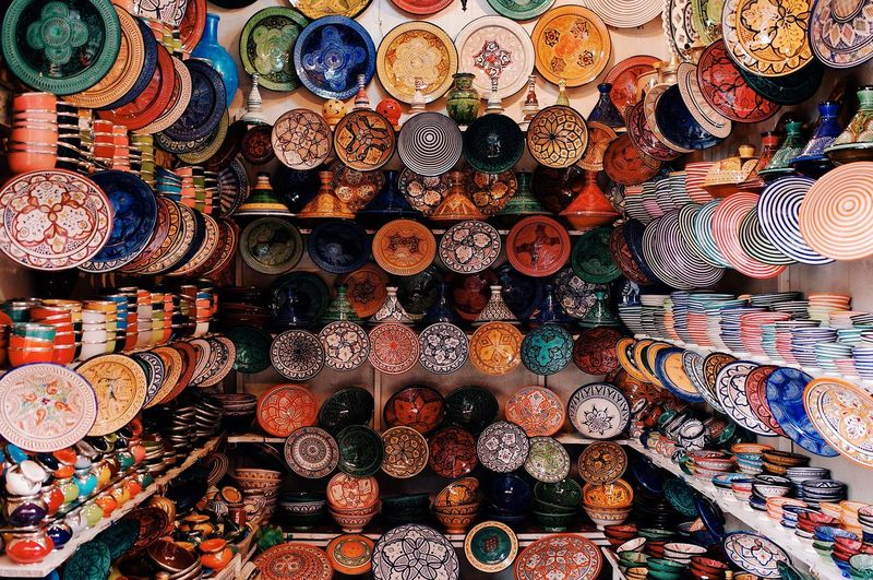 Abundance Large Group Of Objects Choice Variation Multi Colored Full Frame No People Market Collection For Sale Backgrounds Outdoors Close-up Day Colors Colour Of Life Colorful Morocco Culture Traveling