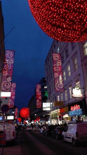 Night Illuminated Celebration Christmas Holiday - Event Christmas Decoration Red