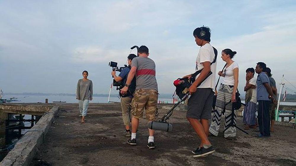 Morning filming Agushariantophotography Scubasurflombok Lombokisland
