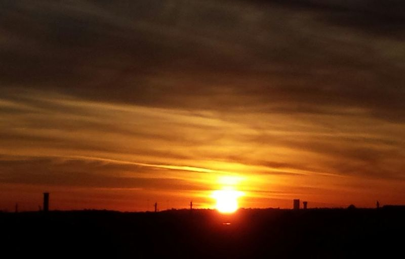 Another Beautiful Oklahoma Sunset. . EyeEm Best Shots - Sunsets + Sunrise 1286387 1876403 1100836