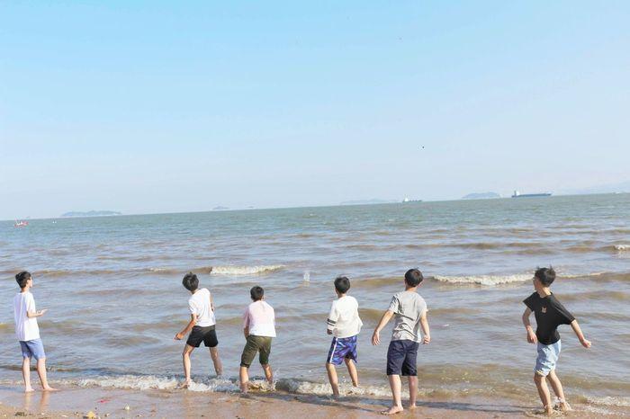 Sea Boys Sky 去追你们的梦吧✔ First Eyeem Photo