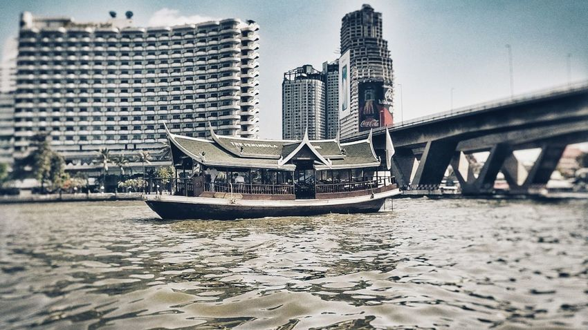 Mekong River Architecture Built Structure River Building Exterior City Water Skyscraper First Eyeem Photo