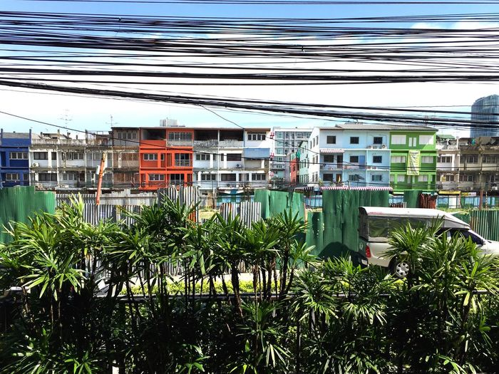 Bangkok Built Structure Architecture Residential Building City Jelee Multi Colored Building Story Residential Structure Colourfullife Colorful Colourful Colorfulbangkok