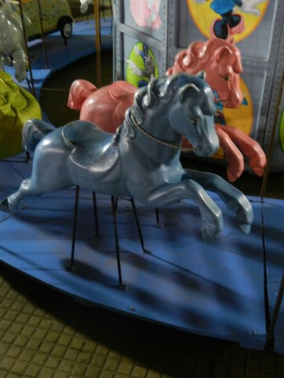 Woodhorse Calesita 🎠 Playtime Funny Moments Infancy