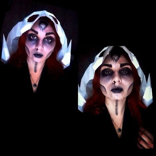 Witches stuff Mystery Dark Horror Females Depression - Sadness Halloween Witch Witches Witchywoman Make-up Makeupartist Halloween Makeup Witch Makeup Pagan Adult Terrified Theatrical Performance Fear Men Women Spooky Adults Only People Males  Indoors