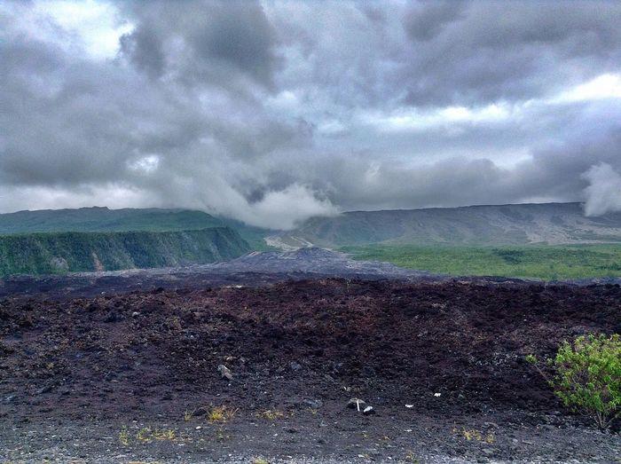 Site de la coulée du volcan Beautiful Nature Volcano LaReunion Sainte-Rose