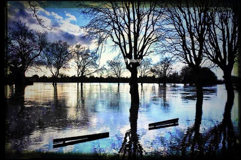 Floods Datchet River Thames