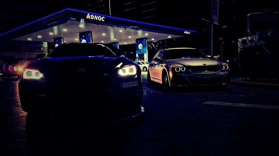 Cars Sportcar Night Illuminated Carporn City Car Night Life Cargasm Bmw M6 M5e60 M5 Racecar