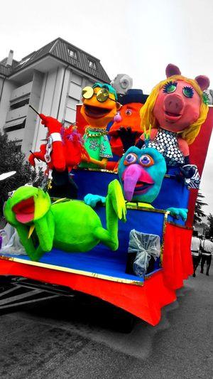 Friends Carnival Muja Smile 2016 Carnival2016 Colors Of Carnival Carnevaldemuja63 Eyemphotography Photocamera Photo Open Edit EyeEm Trieste Trottola Company Muppets
