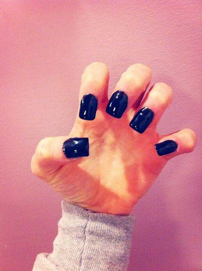 Fresshies Nails Acrylic Black Beauty