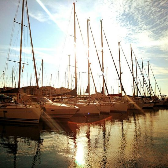 43 Golden Moments Port Sunshine Boats Voiliers Gold Calm Water Tranquille Zen