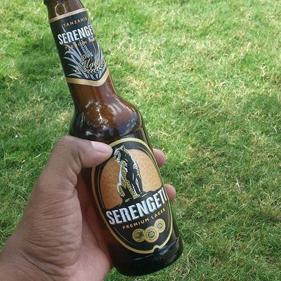 BEER CHALLENGE: I have been told Tanzania makes more than 12 brands of beer. I am on a mission to try them all! Serengetibeer Tanzania MyAfricanVacation Backtomyroots