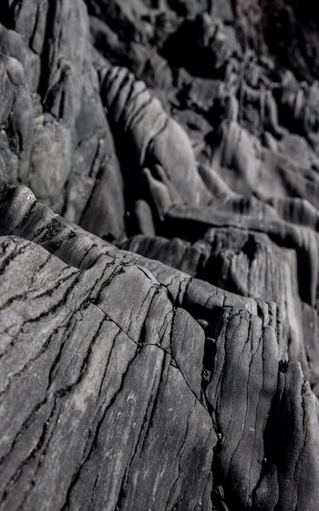 Black Rock City Close-up Day Djúpalónssandur Beach Full Frame Geology Geometry Iceland_collection No People Old Outdoors Curves Pattern Physical Geography Roof Rough