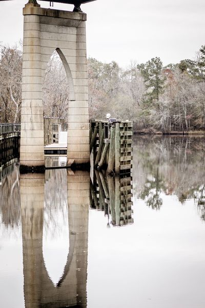 Architecture Arch Reflection Water River Bridge - Man Made Structure Built Structure Day No People Outdoors Nature