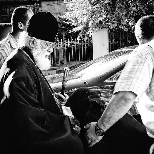 Black & White Bw Blacknwhite Black And White Photography Blackandwhite Candid Blackandwhite Photography Kiddesign Church Tbilisi Ilia II