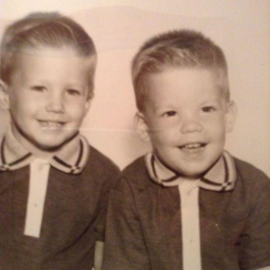 regram @judyagregg TBT  1965... Jeff & his brother Bob Cutestpictureever The60s