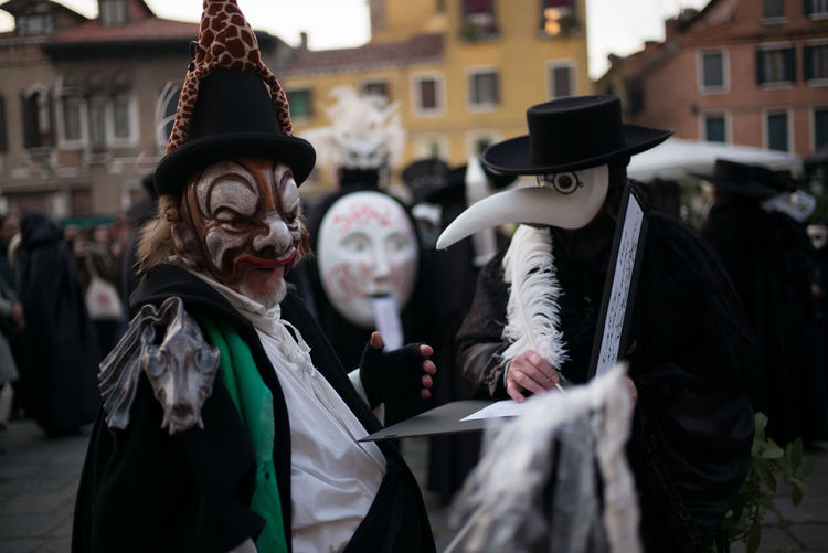 21.November 2017 Celebration Madonna Di Salute Masks Day Fiesta Outdoors Real People Theatre Traditional Venice
