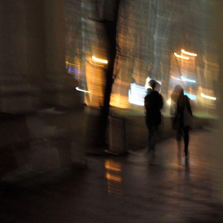 The Illuminator - 2014 EyeEm Awards Into The Night Photography In Motion On The Way
