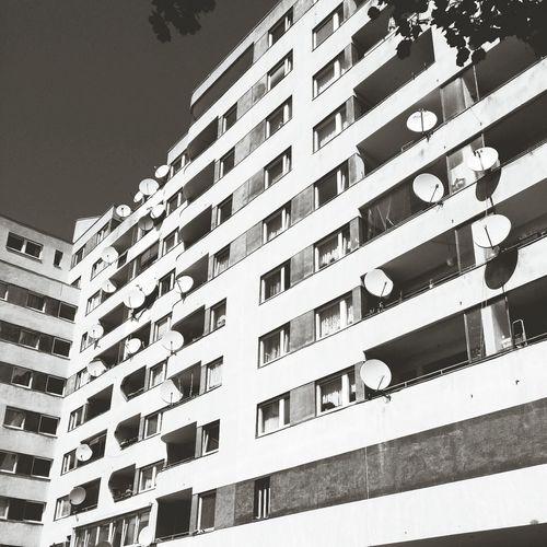 Walking Around The Spirit Of Kreuzberg Black & White