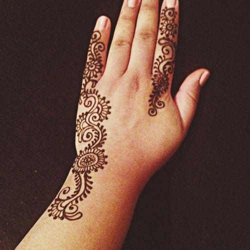Something delicate.. Henna Tattoo Hennaart Sacramento