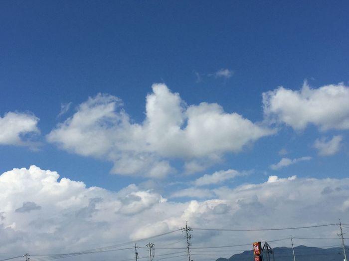 夏空 空 My Sky 青空 信州 夏の雲