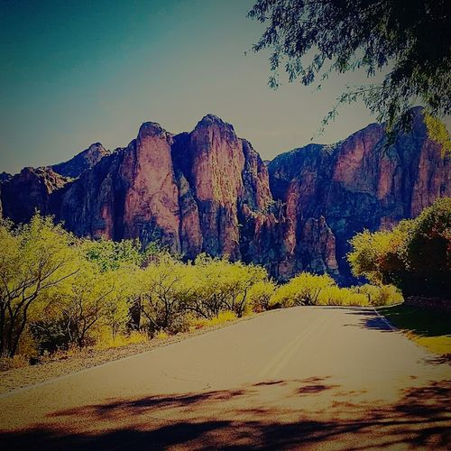 Rock Formation Tontonationalforrest Nature Arizona Lonelyroad Superstition Mountains Neighborhood Map The Great Outdoors - 2017 EyeEm Awards