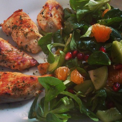 Geilster salat Leeecker Schlemmen Sunday Lunch Rip Paul Walker :(