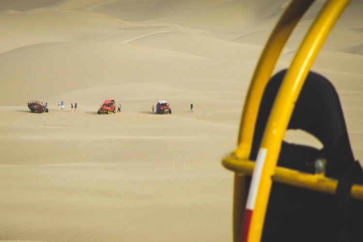 sand buggies on a dune Adventure Day Desert EyeEm Gallery Huacachina Land Vehicle Landscapes Nature Outdoor Outdoor Activity Outdoors Peru Sand Sand Buggy Sand Dune Travel Travel Photography Travel Destinations Finding New Frontiers