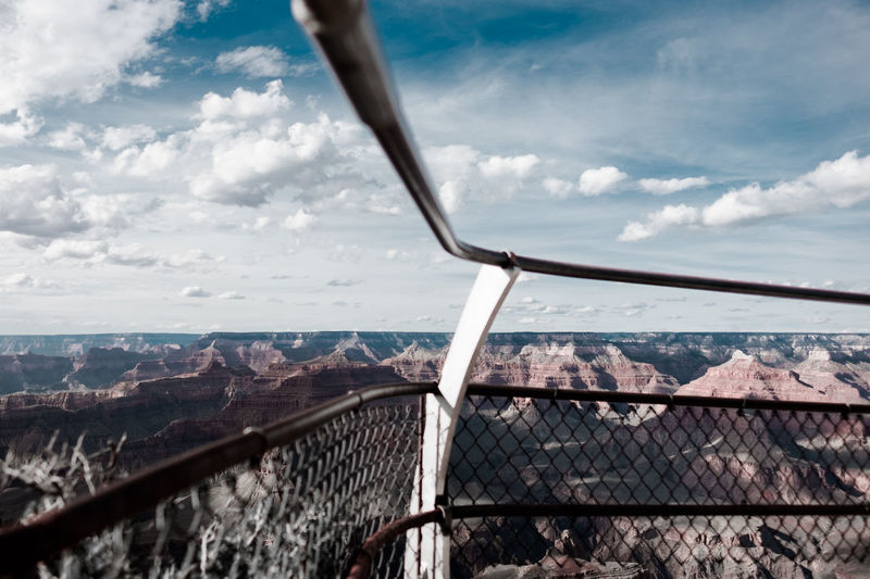 Mind the Gap. Adventure Arizona Cloud - Sky Day Desert Exploring Fujifilm Globetrotter Grand Canyon National Park Hiking Landscape Photography Living On The Edge Nature No People On The Road Outdoors Roadtrip South Rim Travel Photography Traveling USA Vacation Wanderlust Wide Angle Lens X-T10