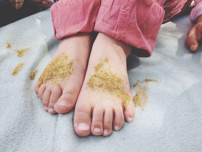 Summer Feet Glitter Summer 2016