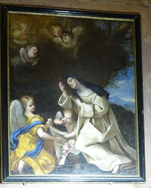 Tableau Spirituality Religion Art Peinture Chretiens sainte therese