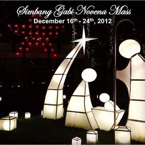Simbang Gabi. Simbanggabi Dec16 Christmas Mass filipino tradition