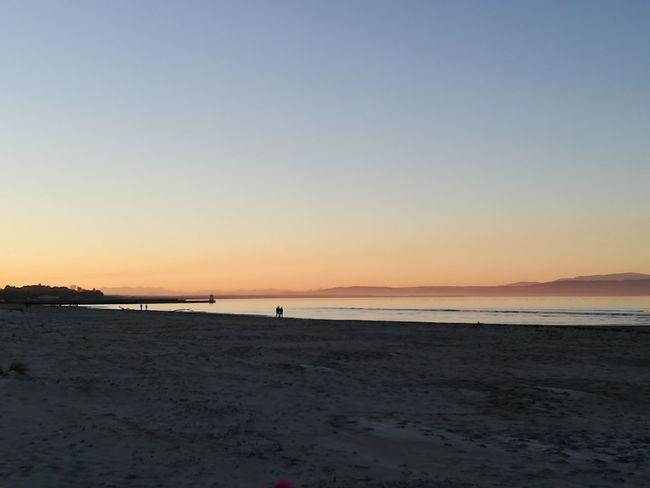 Nairn Nairn Scotland Beach Sunset Beach Sunset