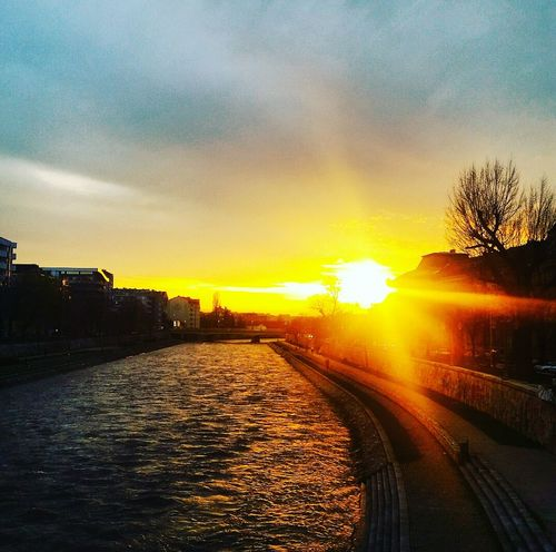 AndjelaMancic First Eyeem Photo EyeEm Best Shots EyeEm Gallery Sunset Nature River Serbia