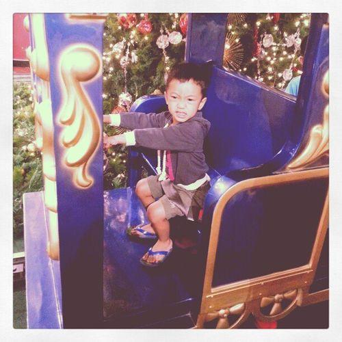 Bedazzling Christmas ride at Pavilion.Xmas12