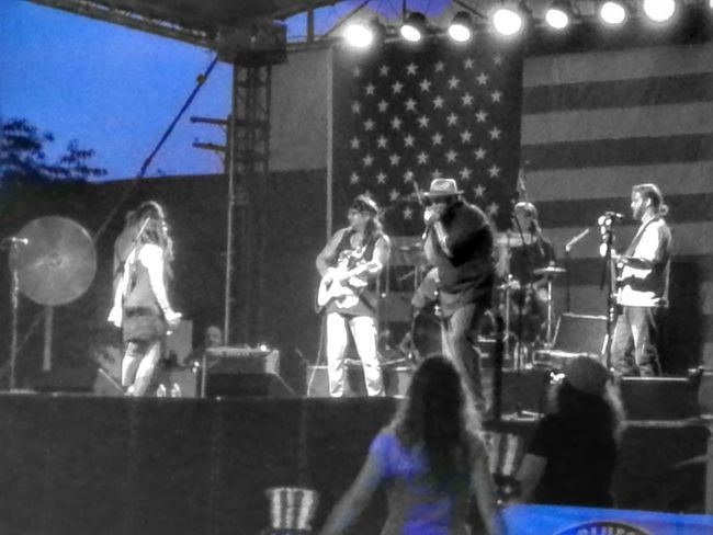 jamm session shawnee lake Band Blues Festival Forth Of July