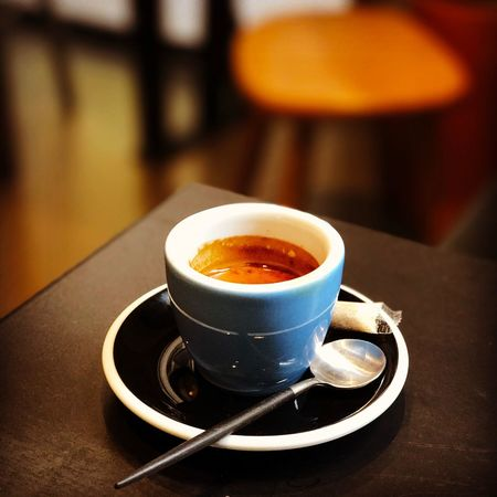 Ristretto Espresso Coffee Relaxing Time