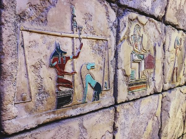 Viva Las Vegas Las Vegas Luxor Textures And Surfaces Glyph Pyramid