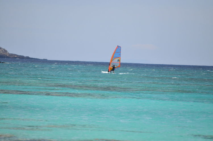 Adventure Beauty In Nature Blue Blue Wave Crete Horizon Over Water Island Island Life Nature Ocean Outdoors Paradise Surfing Surfingphotography View Water Windsurfing