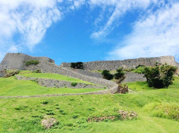 Katsurencastle Okinawa Japan 沖縄 勝連城跡