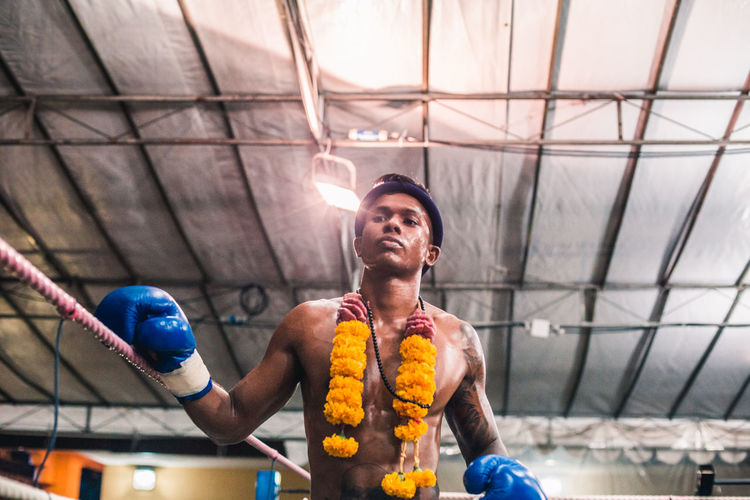 The walk of confidence. Front View One Person Real People Young Men Waist Up Smiling Portrait Men Young Adult Emotion Adult Mid Adult Happiness Muay Thai Shirtless Fighter The Portraitist - 2019 EyeEm Awards The Traveler - 2019 EyeEm Awards
