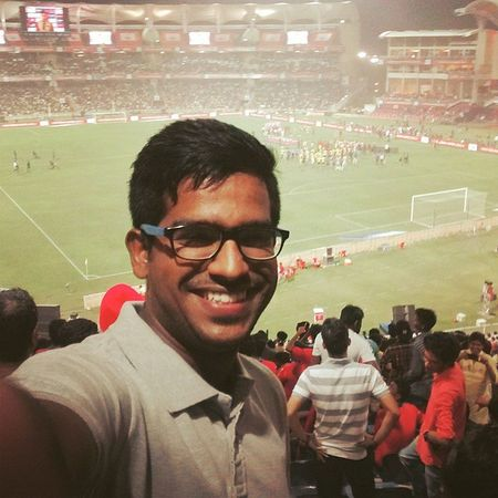 Full time Selfie!! 😉 And Atletico won!! ¯\_(ツ)_/¯ Isl Fulltimeselfie Atk Won 😎