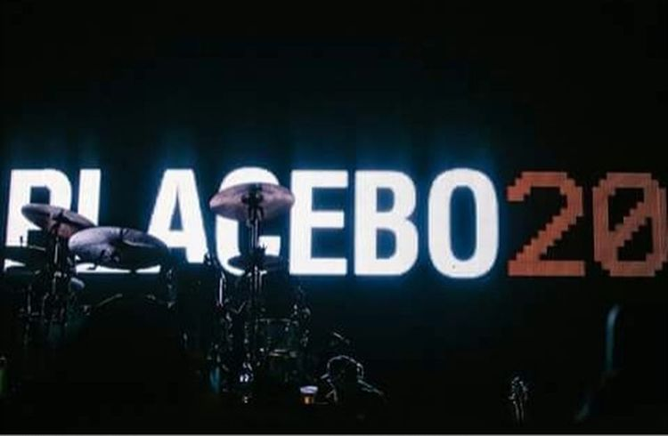 This is a photo from the concert Placebo Placebo20 Placebogreece Brain Molko 1/7/17