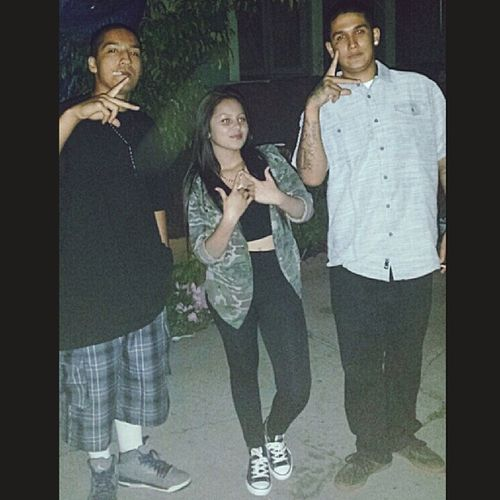 All my homies gang bangers we keep a thumb between them two fingers ? Tb