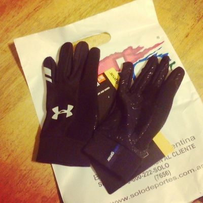 Nuevos Guantes New Gloves UnderArmour Ciclismo Running Rennen
