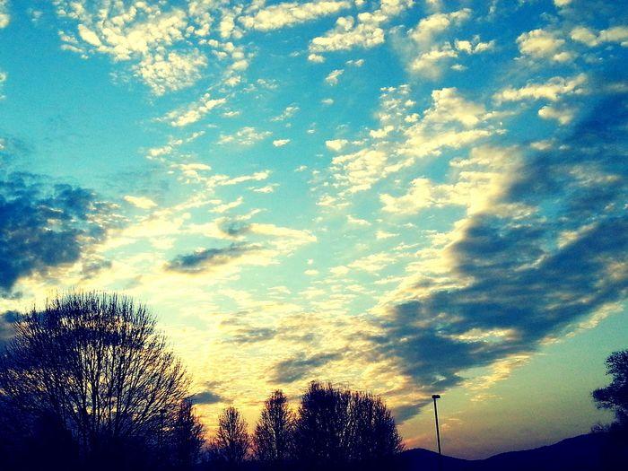 Sunset Magic Skygazing Relaxing