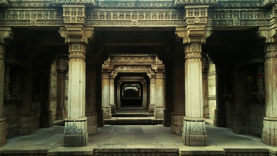 Heritage Adalajstepwell Ahemedabad India UNESCO World Heritage Site History Place Of Worship Built Structure Travel First Eyeem Photo