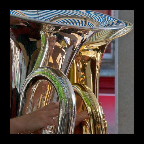 EyeEmBestPics Eye4photography  Street Photography Touraine Brass Band Brassband Harmonie Music Live Music Cuivres